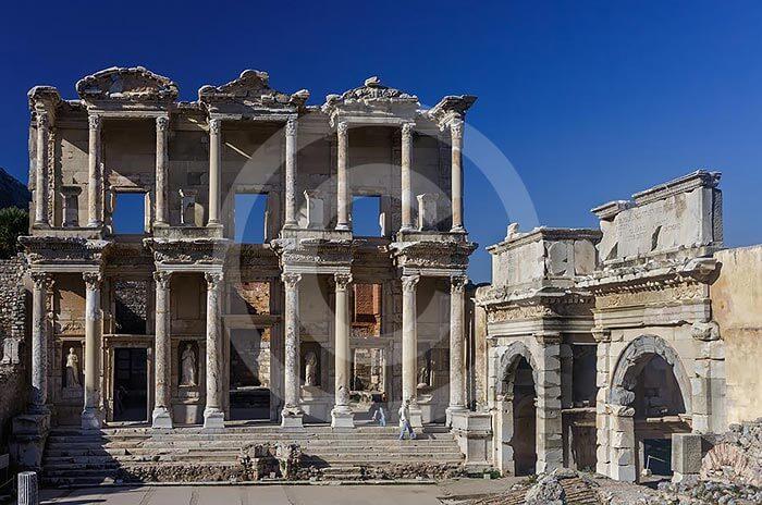 wycieczki fakultatywne bodrum efez biblioteka