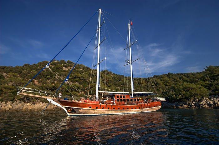 Wycieczka rejs statkiem w bodrum Turcja