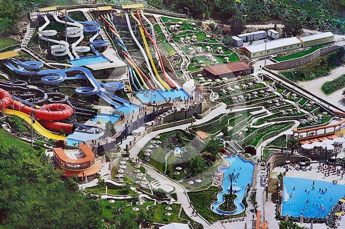 wycieczka fakultatywna z Bodrum do Aquapaku.Aquapark Bodrum